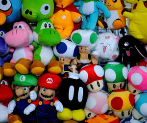 mario, photography, and plush image