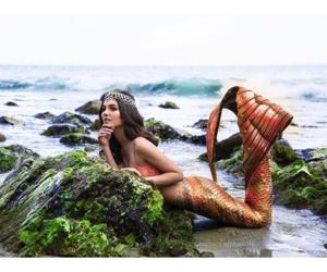 victoria justice, mermaid, and fantasy image