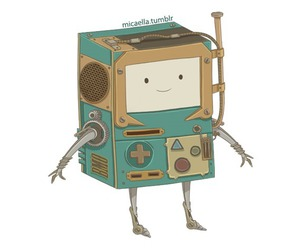 bmo, steampunk, and adventure time image