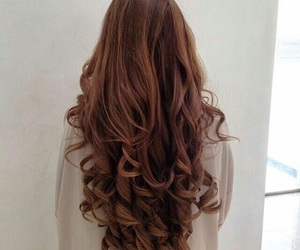 hair, style, and curls image