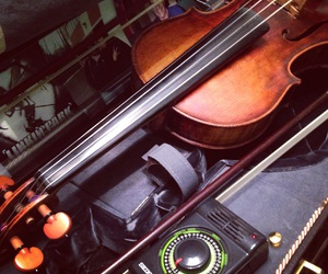 beauty, musician, and violin image