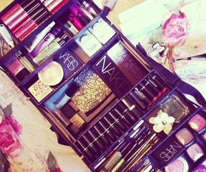 beauty, make up, and shopping image
