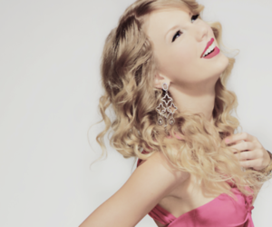 Taylor Swift, pink, and smile image