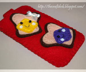 craft, peanut butter, and sandwich image