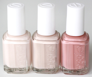 beauty, pastel, and essie nail polish image