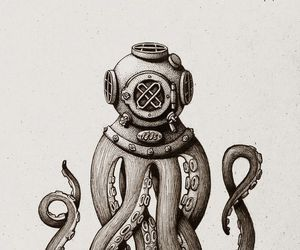 octopus and art image