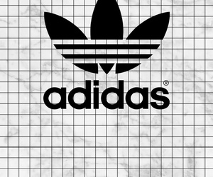 adidas, grunge, and Logo image