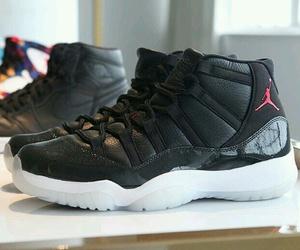 black, jordan, and sneaker image