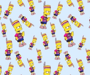 wallpaper, background, and bart image