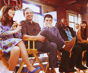 new girl, zooey deschanel, and max greenfield image