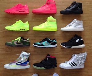 air force, nike, and shoes image