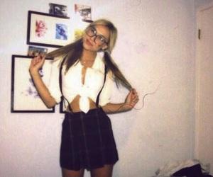 blonde, vintage, and alexis ren image