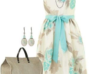 casual, vestido, and cómodo image