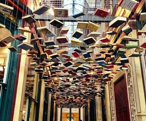 book, london, and reading image