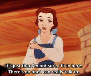 quote, disney, and belle image