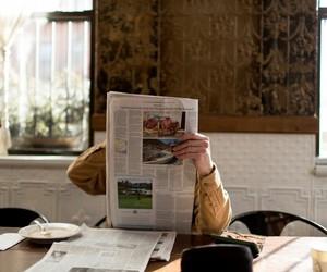 newspaper, indie, and vintage image