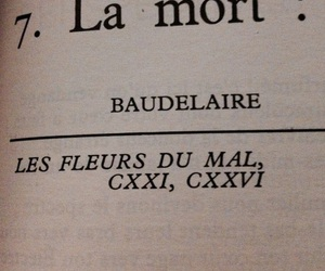baudelaire, book, and death image
