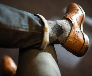 socks, men, and shoes image