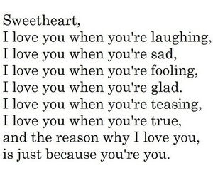 love, quote, and sweetheart image