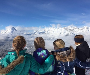 hills, Skiing, and snow image