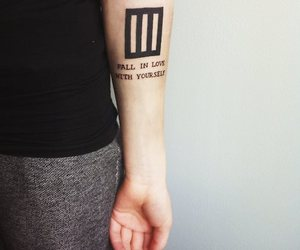 tattoo, paramore, and love image