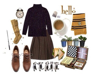fashion, harrypotter, and look image