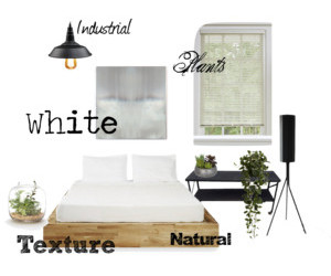 bedroom, industrial, and nature image