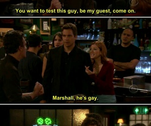 himym, how i met your mother, and fight image