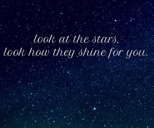 coldplay, sky, and look image