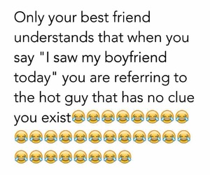 boyfriend, best friend, and funny image