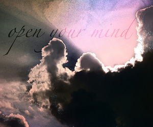 clouds, inspiration, and text image