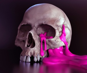 color, skull, and colour image