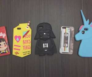 case, iphone, and dark vader image