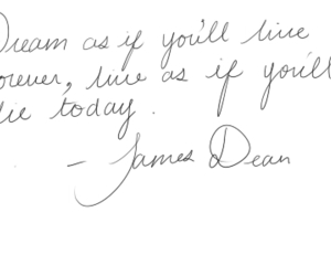 quote, james dean, and Dream image