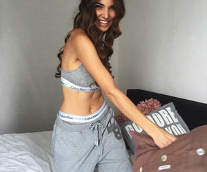 Calvin Klein, outfit, and negin mirsalehi image