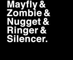 mayfly, ringer, and silencer image