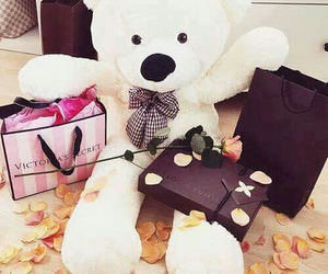 bear, gift, and Victoria's Secret image