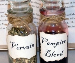 vervain, vampire, and vampire blood image