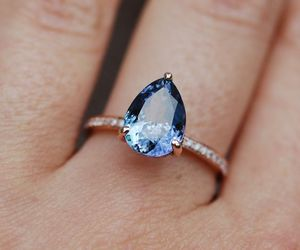 ring, accessories, and blue image