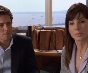 2002, hugh grant, and sandra bullock image