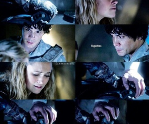 bellarke, the 100, and clarke griffin image