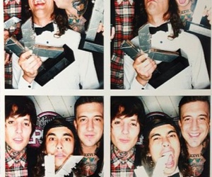 vic fuentes, austin carlile, and bring me the horizon image