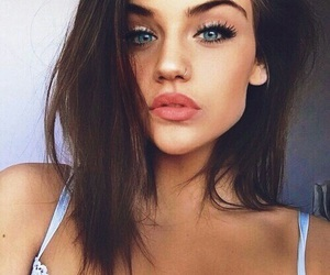 beauty, jawline, and site model image