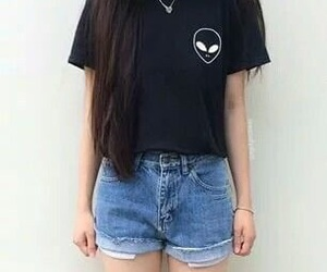 alien, grunge, and style image