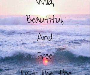 sea, quotes, and beautiful image