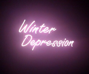 winter, depression, and grunge image