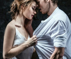 lily james, richard madden, and couple image