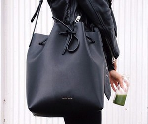 fashion, black, and bag image