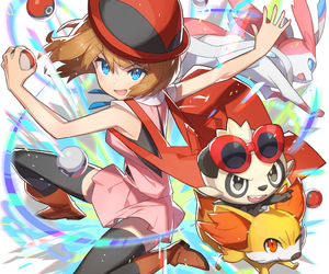 pokemon, anime, and serena image