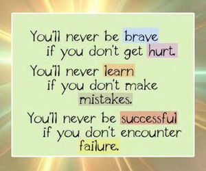 quotes, life, and brave image